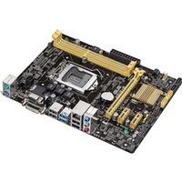 ASUS マザーボード Intel H81/LGA1150/DDR3メモリ対応/MicroーATX H81M-E 1枚  (直送品)