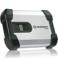 Ironkey セキュリティ外付HDD IronKey H200 500GB (指紋・パスワード認証) MXCA1B500G4001FIPS 1台  (直送品)
