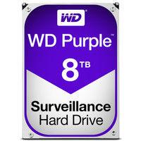 WD Purpleシリーズ 3.5インチ内蔵HDD 8TB SATA Intellipower 128MBキャッシュ WD80PUZX  (直送品)