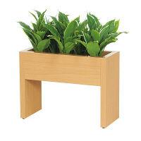グリーンモード グリーンスタンド パーテーション2318 60X45 ナチュラル 人工観葉植物 1台 (直送品)