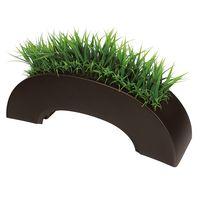 グリーンモード グリーンスタンド パーテーション2496 ブラウン 人工観葉植物 1台 (直送品)