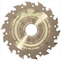 グローバルソー スーパーZ 窯業サイディングボード用 外径100mm TKZ-100 MOTOYUKI(モトユキ) (直送品)