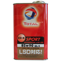 TOTAL ZZ-X SPORT デフ withLSD 85W90 1セット(20本入) (直送品)