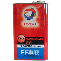 TOTAL ZZ-X TRANSMISSION FF 75W80 1セット(20本入) (直送品)