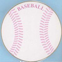 丸型色紙 野球 EM-SB01 5枚 エヒメ紙工 (直送品)