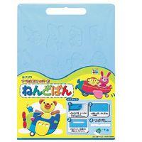 クツワ 粘土板 ブルー PT651BL 3個 (直送品)
