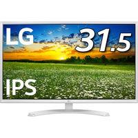 LG 31.5型ワイド液晶ディスプレイ(LED/ブルーライト低減/フリッカーセーフ) 32MP58HQ-W 1個  (直送品)