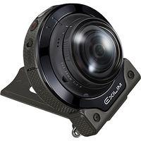 カシオ計算機 デジタルカメラ FREE STYLE EXILIM EXーFR200 カメラ単体 ブラック EX-FR200CABK 1台  (直送品)