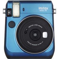 富士フイルム インスタントカメラ instax mini 70 ブルー INS MINI 70 BLUE 1台  (直送品)