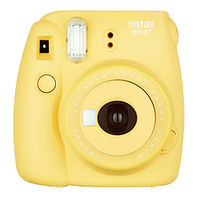 富士フイルム インスタントカメラ チェキ instax mini 8+(プラス) ハニー INS MINI 8P HONEY 1台  (直送品)