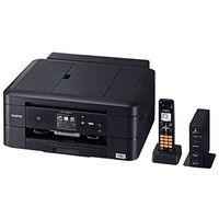 ブラザー A4インクジェット複合機/FAX/10/12ipm/デジタル子機1台/両面印刷/無線LAN/ADF MFC-J900DN 1台  (直送品)