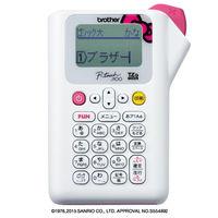 ブラザー ラベルライター Pーtouch J100 ハローキティホワイト PT-J100KW 1台  (直送品)