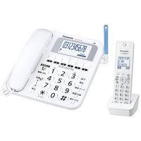 パナソニック コードレス電話機(子機1台付き)(ホワイト) VE-GE10DL-W 1台  (直送品)