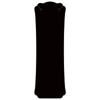 ササガワ ORIGINAL WORKS ネックレス専用台紙 ブラック L 19-2670 1セット(60枚:12枚入×5袋)(取寄品)