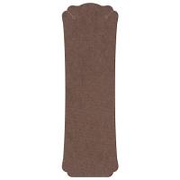 ササガワ ORIGINAL WORKS ネックレス専用台紙 ブラウン L 19-2671 1セット(60枚:12枚入×5袋)(取寄品)