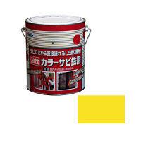 アサヒペン カラーサビ鉄用 1.6L (黄色) 9010664(直送品)