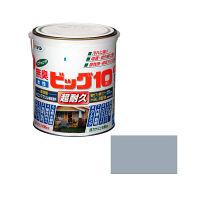 アサヒペン 水性ビッグ10多用途 1.6L (ブルーグレー) 9011148(直送品)