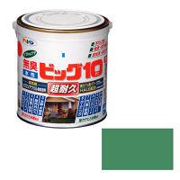 アサヒペン 水性ビッグ10多用途 0.7L (スモークグリーン) 9011192(直送品)