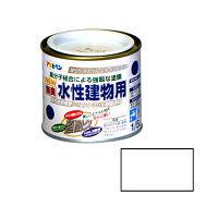アサヒペン 水性建物用 1/5L (白) 9011301(直送品)