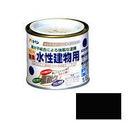 アサヒペン 水性建物用 1/5L (ツヤ消シ黒) 9011319(直送品)