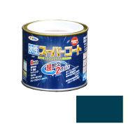 アサヒペン 水性スーパーコート 1/5L (オーシャンブルー) 9011376(直送品)