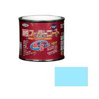 アサヒペン 油性スーパーコート 1/5L (水色) 9011810(直送品)