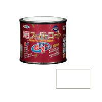 アサヒペン 油性スーパーコート 1/5L (ツヤ消し白) 9011820(直送品)