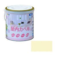 アサヒペン NEW水性インテリアカラー屋内カベ 0.7L シャーベットイエロー 9017620(直送品)