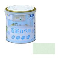 アサヒペン NEW水性インテリアカラー浴室カベ 0.7L (ライトグリーン) 9017653(直送品)