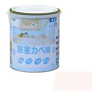 アサヒペン NEW水性インテリアカラー浴室カベ 1.6L (ペールピンク) 9017697(直送品)