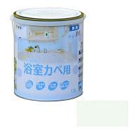 アサヒペン NEW水性インテリアカラー浴室カベ 1.6L (ペールグリーン) 9017699 (直送品)