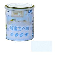 アサヒペン NEW水性インテリアカラー浴室カベ 1.6L (ペールブルー) 9017700 (直送品)