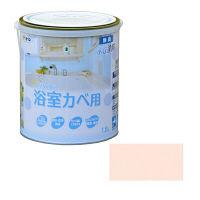アサヒペン NEW水性インテリアカラー浴室カベ 1.6L (ライトピンク) 9017701 (直送品)