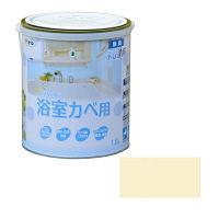 アサヒペン NEW水性インテリアカラー浴室カベ 1.6L (クリーム色) 9017702 (直送品)