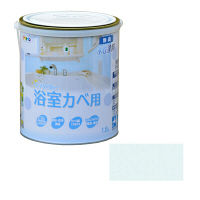 アサヒペン NEW水性インテリアカラー浴室カベ 1.6L (ライトブルー) 9017704 (直送品)
