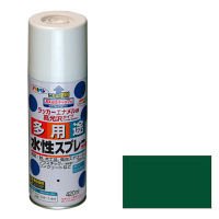 アサヒペン 水性多用途スプレー 420mL (緑) 9010213(直送品)
