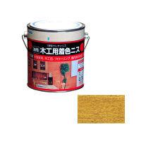 アサヒペン 木工用着色ニス 0.7L (ツヤ消しクリヤ) 9010422 (直送品)