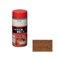 アサヒペン 木工用着色ニス 300mL (メープル) 901344 (直送品)