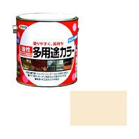 アサヒペン 油性多用途カラー 0.7L (アイボリー) 9016602(直送品)