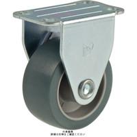 ナンシン(nansin) 汎用キャスター固定タイプ 25mmTPゴム・グレー車輪付 SKC-25EM 1セット(4個)(直送品)