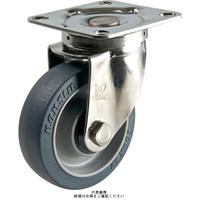ナンシン(nansin) ステンレスキャスター自在タイプ 150mmスーパーエンプラ車輪付 SU-STC-150PSN 1セット(4個)(直送品)