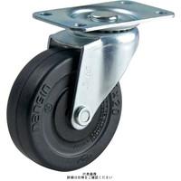 ナンシン(nansin) 一般キャスター自在タイプ 100mmエラストマー車輪付 TEL-100TP 1セット(4個)(直送品)