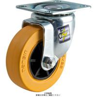ナンシン(nansin) 静電気防止キャスター自在タイプ 125mmゴム(B入・静電気防止)車輪付 STC-125CBCE 1セット(4個)(直送品)