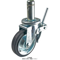 ナンシン(nansin) 足場用キャスター自在ストッパー付タイプ 200mmゴム(B入)車輪付 SCP-200VS 1セット(4個)(直送品)