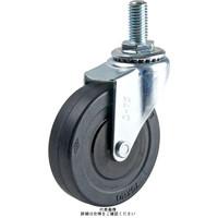 ナンシン(nansin) 一般キャスター自在タイプ 65mmゴム車輪付 SEL-65RL-M12 1セット(4個)(直送品)