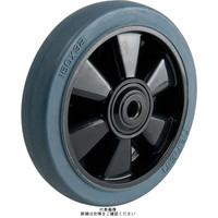 ナンシン(nansin) ゴム(グレー)車輪NRBシリーズ150mm NRB-150-56グレー 1セット(4個)(直送品)