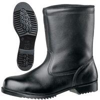 ミドリ安全 JIS規格 安全靴 半長靴 V2400N 耐滑 27.0cm ブラック 1040005813 1足(直送品)