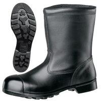 ミドリ安全 JIS規格 重作業用 安全靴 半長靴 W540N CAP 25.5cm ブラック 1040044510 1足(直送品)