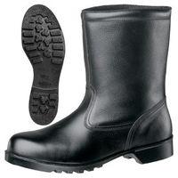 ミドリ安全 JIS規格 安全靴 半長靴 V2400N 静電 25.5cm ブラック 1040051610 1足(直送品)