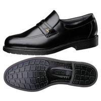 ミドリ安全 通気底 紳士靴 MG1326 静電 24.5cm ブラック 1170052608 1足(直送品)